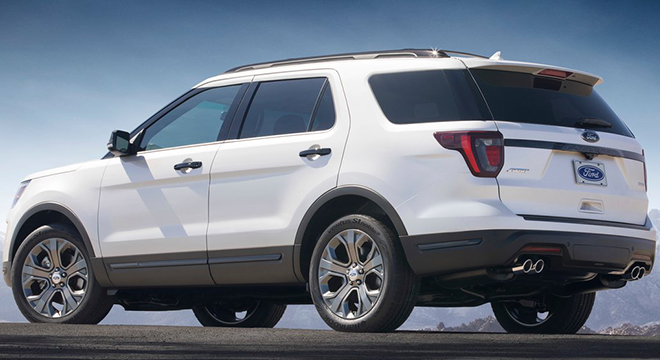 Ford Explorer 2018 rear