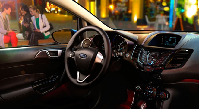 Ford Fiesta Hatchback 2018 interior