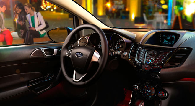 Ford Fiesta Sedan 2018 interior