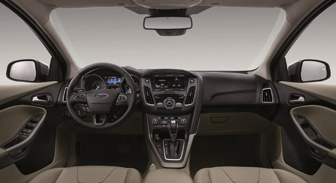 Ford Focus Hatchback 2018 interior