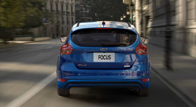 Ford Focus Hatchback 2018 rear