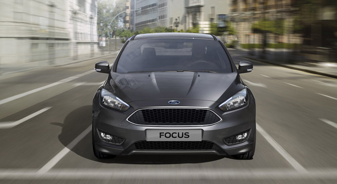 Ford Focus Sedan 2018 front