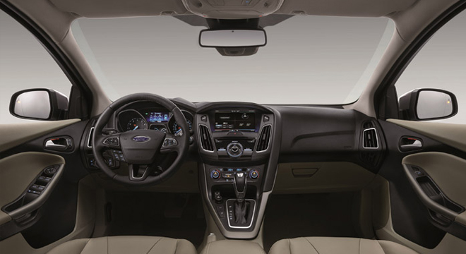 Ford Focus Sedan 2018 interior