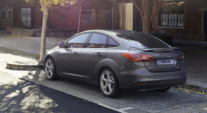 Ford Focus Sedan 2018 rear