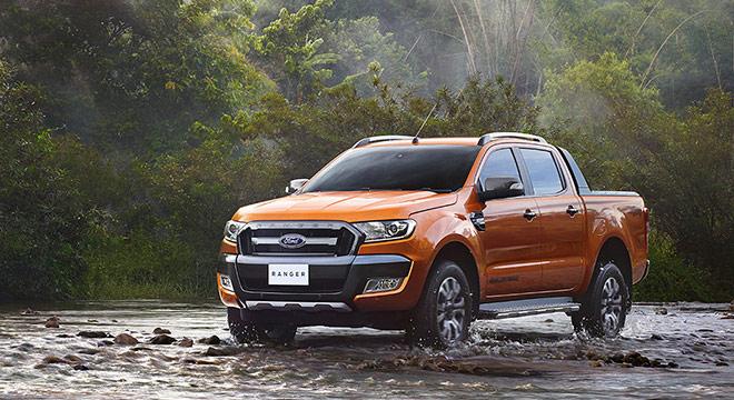 Ford Ranger 2018 front