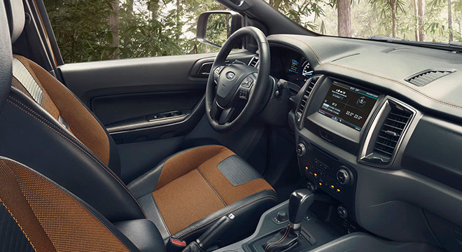 Ford Ranger 2018 interior