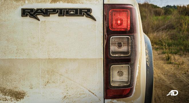 ford ranger raptor exterior road test badge