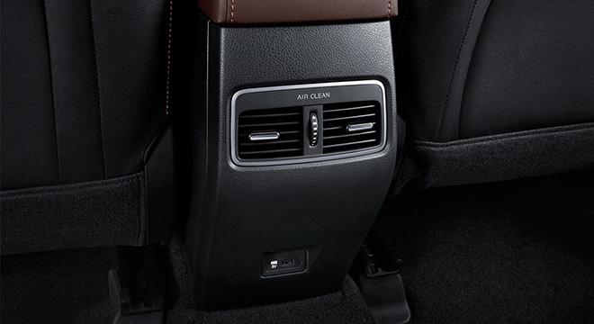 gac gs3 rear air-con vents philippines interior