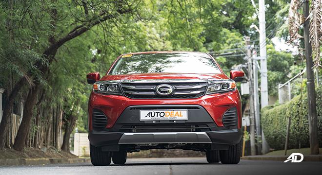 gac gs3 road test 1.5 front exterior