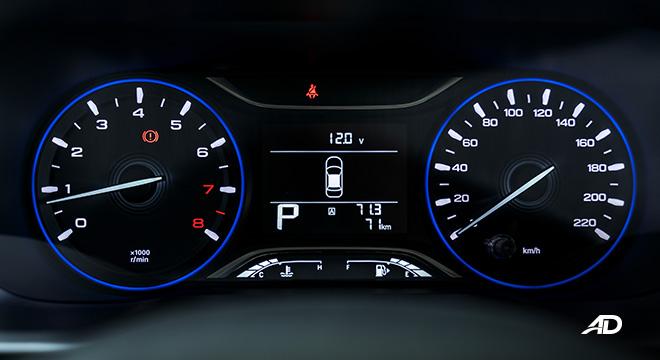 gac gs3 road test 1.5 instrument cluster interior