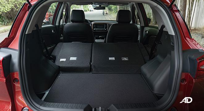gac gs3 road test 1.5 trunk cargo interior philippines