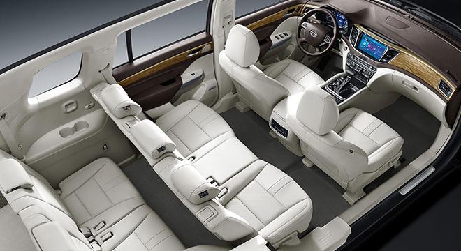 GAC GS8 2018 interior