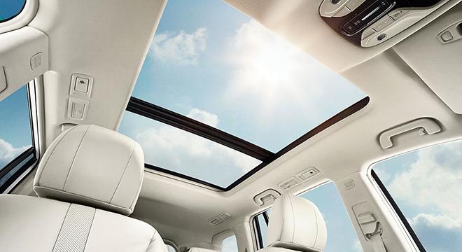 GAC GS8 2018 panoramic sunroof