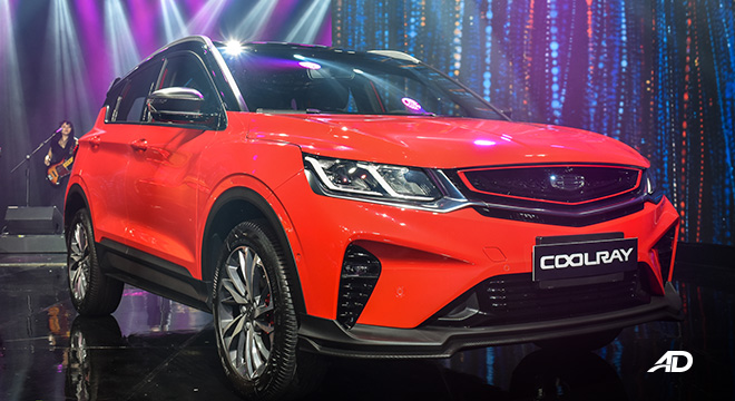 Geely Coolray exterior red philippines