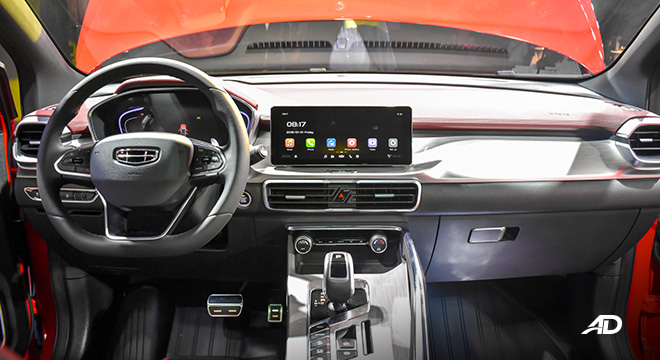 Geely Coolray interior dashboard philippines