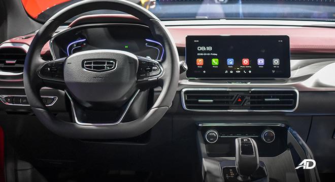 Geely Coolray interior steering wheel