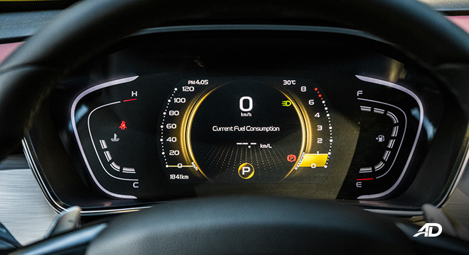 geely coolray road test review instrument cluster interior philippines