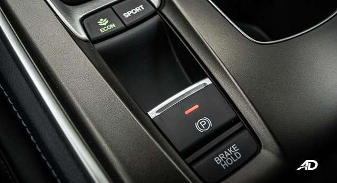 honda accord interior electronic parking brake
