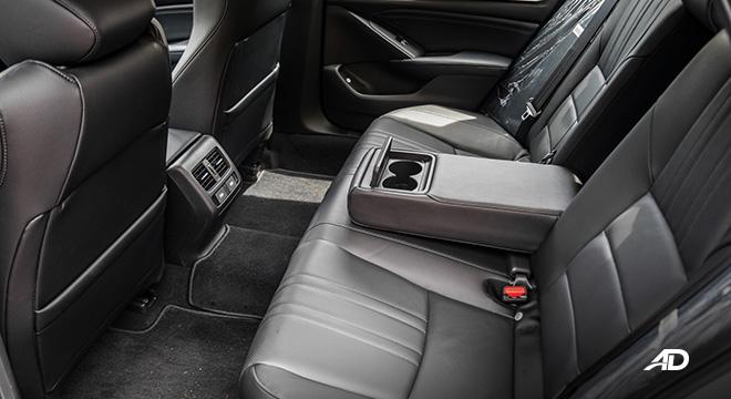 honda accord interior rear cabin