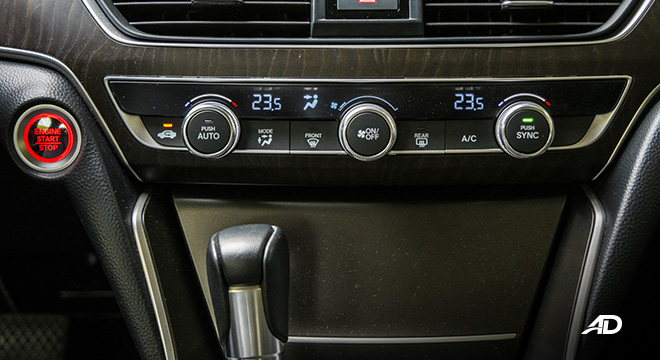 honda accord review road test climate control interior philippines