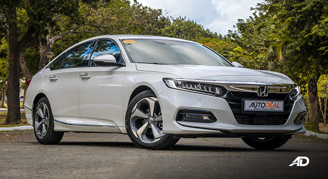 honda accord review road test front quarter exterior philippines