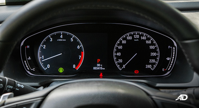 honda accord review road test instrument cluster interior philippines