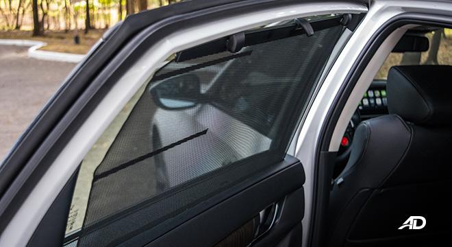 honda accord review road test privacy shade interior