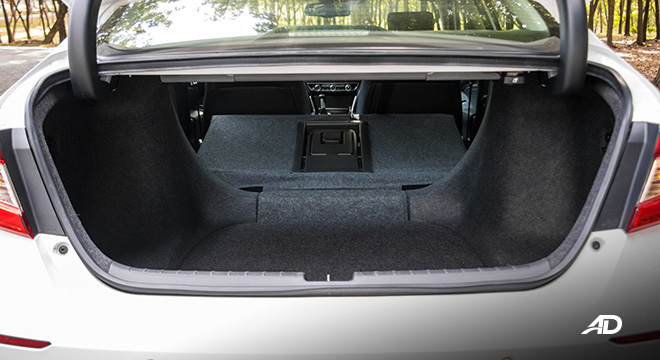 honda accord review road test trunk cargo seats folded interior philippines