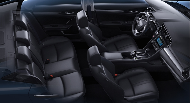 Honda All-New Civic 2018 cabin