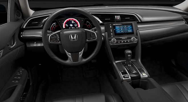 Honda All-New Civic 2018 dashboard