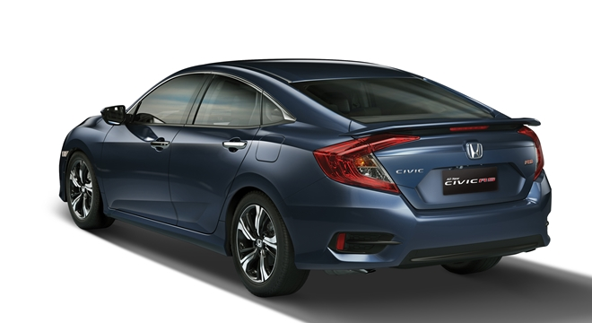 Honda All-New Civic 2018 rear