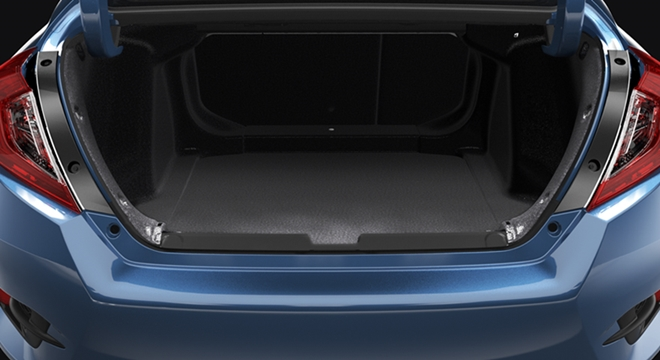 Honda All-New Civic 2018 trunk