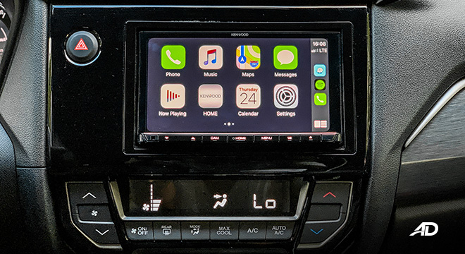 honda br-v road test review apple carplay infotainment interior
