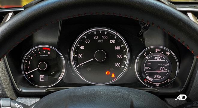 honda br-v road test review instrument cluster interior