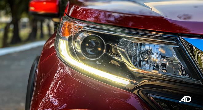 honda br-v road test review LED DRLs exterior
