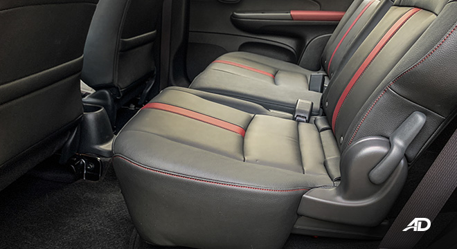 honda br-v road test review second row seats interior philippines