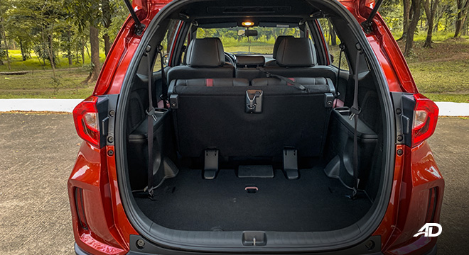 honda br-v road test review third row tumbled interior philippines