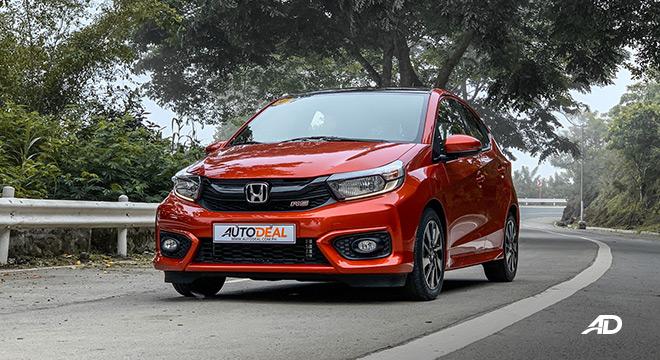 honda brio road test exterior front philippines