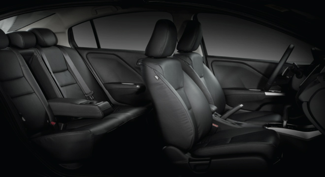 Honda City 2018 cabin