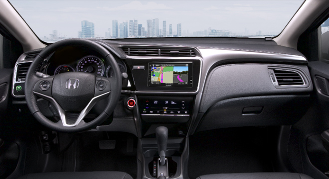 Honda City 2018 dashboard