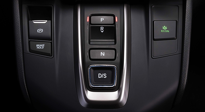 Honda CR-V 2018 controls