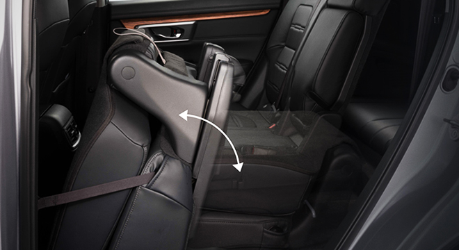 Honda CR-V 2018 folding seats