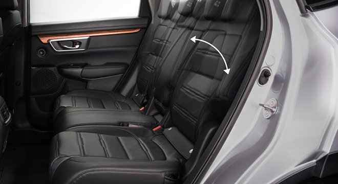 Honda CR-V 2018 rear seats