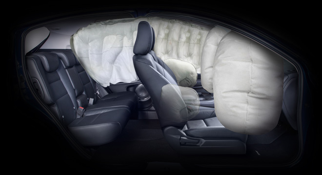 Honda HR-V 2018 airbags