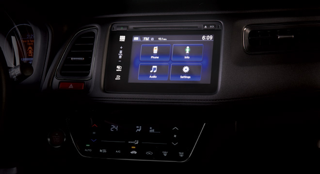 Honda HR-V 2018 display
