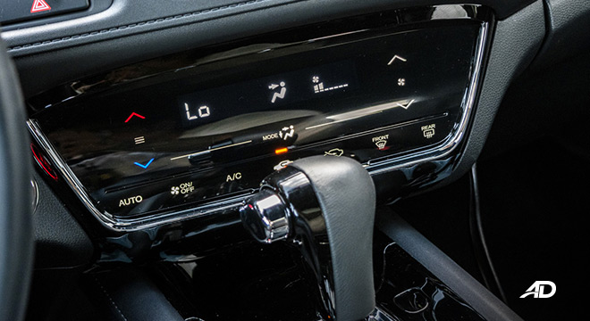 honda hr-v review road test climate control interior philippines