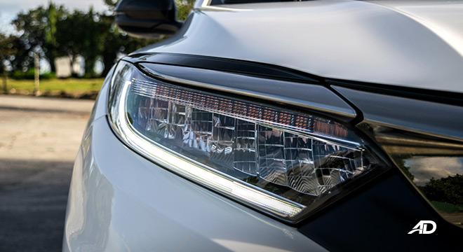 honda hr-v review road test LED headlights exterior philippines