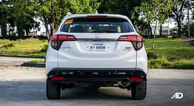 honda hr-v review road test rear exterior philippines