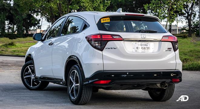 honda hr-v review road test rear quarter exterior philippines