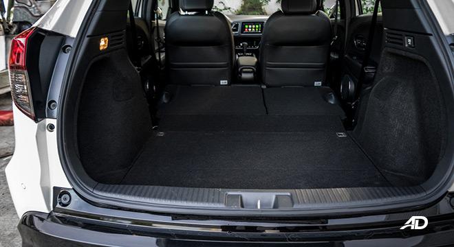 honda hr-v review road test trunk cabin interior philippines